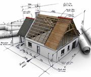 ПРОЕКТ для строительства дома,  коттеджа,  бани.