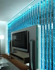 Воздушно-пузырьковые колоннады под заказ.