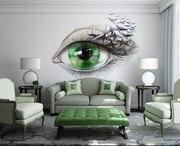 CatJi. Роспись стен / потолков / мебели