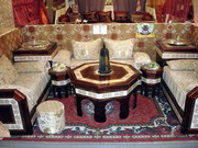 Освещение,  мебель,  ковры посуда- только ручная работа Марокко