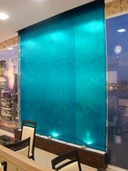 Водопады по стеклу — дарят новый оригинальный дизайнерский элемент!