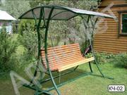 Садовые , разборные качели