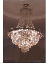 Светильник с подвесками из хрусталя 2, 6 м