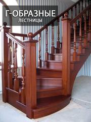Уникальные Лестницы из дерева по индивидуальному заказу!
