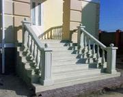 Ступени для лестниц из искусственного мрамора