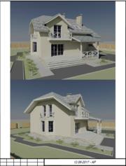 Проектирование домов за 3-15 дней с выездом архитектора для договора